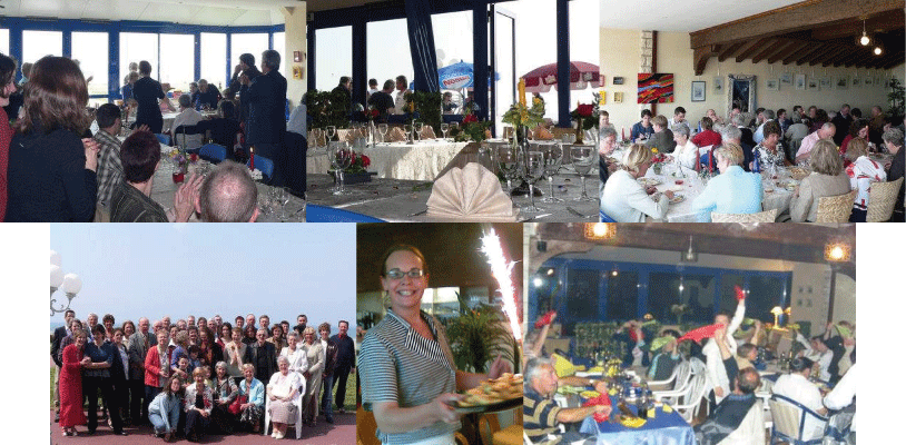 photo d'anniversaires au restant le cap marine